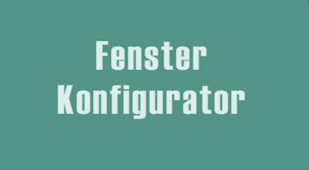 Fenster Konfigurator post thumbnail